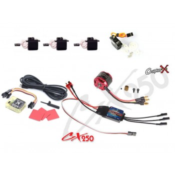 CopterX (CX250EPP-FBL-V3) 250 Flybarless Electronic Parts Package V3CopterX CX 250 Flybarless Parts