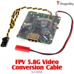 DragonSky (DS-FPV-VC-HDMI) FPV 5.8G Video Conversion Cable for HDMI