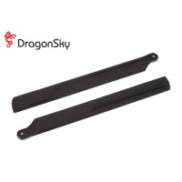 DragonSky (DS-M-218P-01) Plastic Main Rotor Blades 218mm