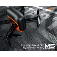 Wingsland M5 Intelligent UAV 2.4G R6 + APP Remote Camera FPV RC Quadcopter Drone
