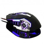 Ajustable 2400DPI USB Optical Gaming Wrangler Computer Mice Wired Mous