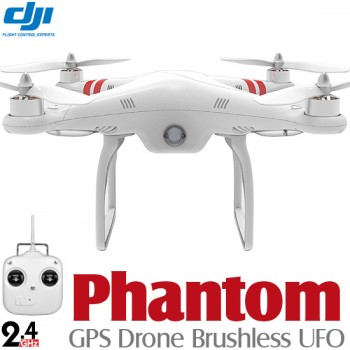 DJI Phantom GPS Drone Brushless UFO RTF - 2.4GHzReal Time FPV Object