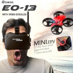 Eachine E013 Micro FPV Racing Quadcopter drone with 5.8G 1000TVL 40CH Camera VR006 Goggles RTF