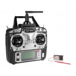 FLYSKY (FS-T6-RB6) 6CH 2.4GHz Air Transmitter with RB6 Receiver