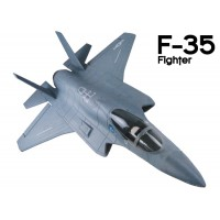 GL (808-2) F-35 Fighter EPO Electric Duct Fan Airplane Kit