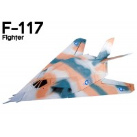 GL (809-2) F-117 Fighter EPO Electric Duct Fan Airplane Kit