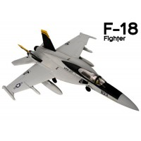 GL (812-3) F-18 Fighter EPO Electric Duct Fan Airplane Kit (Jolly Rogers)