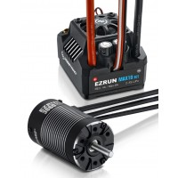 Hobbywing COMBO-MAX10 SCT-3660SL-4000KV EZRUN MAX10-SCT 120A ESC + 3660 SL G2 4000KV Brushless motor Combo for 1/10 Touring Car, Buggy, Truggy and Truck