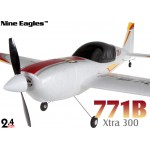 Nine Eagles (NE-R/C-771B-R) 4CH Xtra300 Airplane RTF (Red) - 2.4GHz