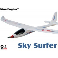 Nine Eagles (NE-R/C-781B) 4CH SKY SURFER RTF Airplane - 2.4GHz