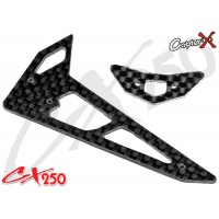 CopterX (CX250-06-03) Carbon Fiber Stabilizer Set