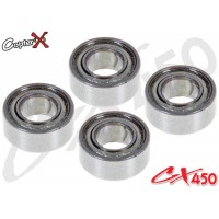 CopterX (CX450-09-03) Bearings(MR63ZZ) 3x6x2.5mm