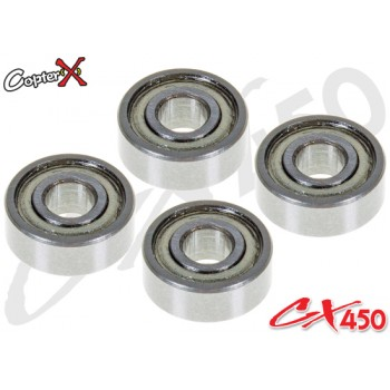 CopterX (CX450-09-04) Bearings(MR83ZZ) 3x8x3mmCopterX CX 450PRO V4 Parts
