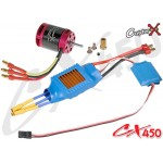CopterX (CX450-10-06) 430XL Brushless Motor & 50A Brushless ESC with BEC