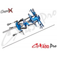 CopterX (CX450PRO-01-01) Metal Main Rotor Head Set