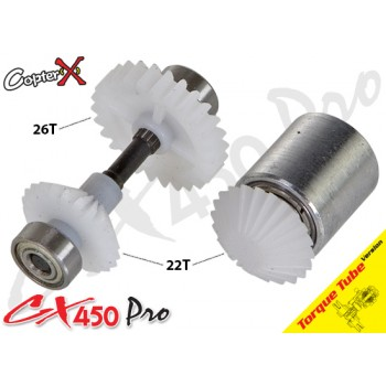 CopterX (CX450PRO-03-14T) Tail Drive Gear Set (Boom Lock)CopterX CX 450PRO V4 Parts