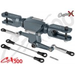 CopterX (CX500BA-01-01) Flybarless Rotor Head for EP500 Helicopters