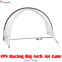 DragonSky (DS-FPV-GATE-ARCH-W) FPV Racing Big Arch Air Gate (250cm, White)