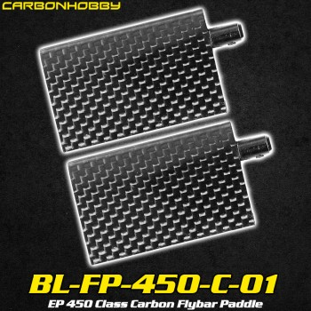 CarbonHobby (BL-FP-450-C-01) EP 450 Class Carbon Flybar PaddleCopterX CX 450PRO Parts