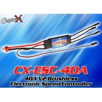 CopterX (CX-ESC-40A) 40A V2 Brushless Electronic Speed Controller