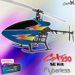 CopterX CX 250SE Flybarless Kit
