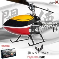 CopterX CX 450 Black Angel Flybarless Helicopter Kit