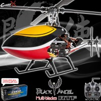 CopterX CX450BAMB4 Black Angel Four-blades Helicopter 2.4GHz RTF (Cartoned)