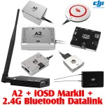 DJI A2 with iOSD Mark II and 2.4G Bluetooth Datalink Combo