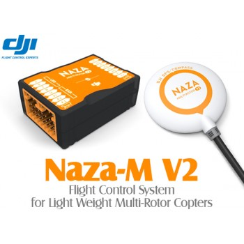 DJI NAZA-M V2 Flight Control System with GPS Module without PMU and LED Module for Multi-Rotor Copters