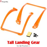 DragonSky (DS-P2-TLG-O) Tall Landing Gear for DJI Phantom 2 (Orange)