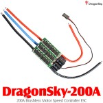 DragonSky (DragonSky-200A) 200A Brushless Motor Speed Controller ESC