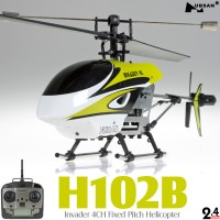Hubsan (HS-H102B-M2) Invader 4CH Helicopter RTF