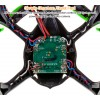 Hubsan (HS-H107C-HD-BG-M1) X4 LED Version 6 Axis Gyro 4CH Mini Quadcopter with HD 720P Video Camera and Rotor Blades Protection Cover RTF (Black Green, Mode1) - 2.4GHz