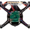 Hubsan (HS-H107C-HD-BR-M2) X4 LED Version 6 Axis Gyro 4CH Mini Quadcopter with HD 720P Video Camera and Rotor Blades Protection Cover RTF (Black Red, Mode2) - 2.4GHz