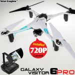 Nine Eagles Galaxy Visitor 6 Pro 4CH FPV Quadcopter (White, Mode 2)