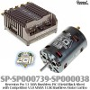 Speed Passion (SP-SP000739-SP000038) Reventon Pro 1.1 140A Brushless ESC (Metal Black Silver) with Competition V3.0 MMM 13.5R Brushless Motor Combo