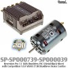 Speed Passion (SP-SP000739-SP000039) Reventon Pro 1.1 140A Brushless ESC (Metal Black Silver) with Competition V3.0 MMM 17.5R Brushless Motor Combo