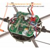 Sky Walker (SW-1306-O-M2) Quadcopter Aerocraft 6 Axis Gyro 4CH UFO with Rolling Shield RTF (Orange, Mode2) - 2.4GHz
