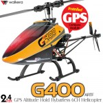 WALKERA G400 GPS Altitude Hold 6 Axis Gyro Flybarless 6CH Helicopter - 2.4GHz
