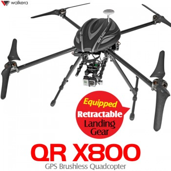 WALKERA (WALKERA-QR-X800) QR X800 GPS Brushless Quadcopter - 2.4GHz
