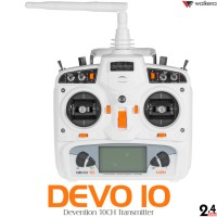 WALKERA DEVO 10 Transmitter (White)