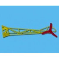 Walkera (HM-5#6-Z-04) Tail truss set