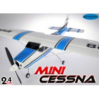 Skyartec (MNCE01-1-B-M2) Mini Cessna 4CH Brushless Airplane RTF (Blue, Mode2) - 2.4GHz
