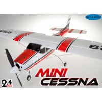 Skyartec (MNCE01-1-R-M2) Mini Cessna 4CH Brushless Airplane RTF (Red, Mode2)- 2.4GHz