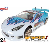 Smartech (ST-101420) Winner1 4WD 1/10 Scale Onroad Nitro Touring Car RTR - 2.4GHz