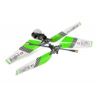 SH (SH-6020-1-HEAD-G) 6020-1 Swift 3CH Helicopters Complete Rotor Head Assembly Set (Green)