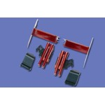Walkera (HM-53QD-Z-04R) Decoration Set (Red)