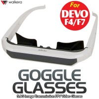 WALKERA FPV Video Goggle Glasses for DEVO F4, F7 Transmitter