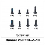 WALKERA (Runner 250PRO-Z-18) Screw set