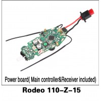 Walkera (Rodeo 110-Z-15) Power board( Main controller&Receiver included)